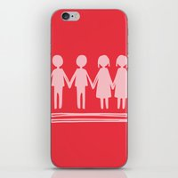 equality iPhone & iPod Skins featuring Equality Love by MaJoBV