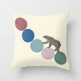 High Climber Throw Pillow