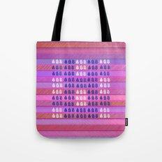 Leaves in  pink Tote Bag