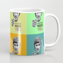 Manchester united legend Coffee Mug