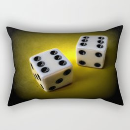 Roll the dice III Rectangular Pillow