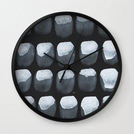 Black Oysters  Wall Clock