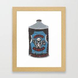 Die Hard Lager Framed Art Print