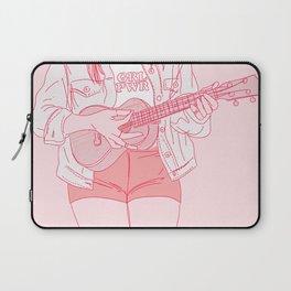 ukulele player Laptop Sleeve