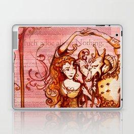 Much Ado About Nothing - Masquerade - Shakespeare Folio Illustration Laptop & iPad Skin
