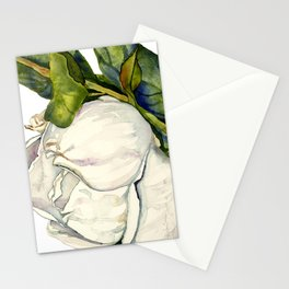 Magnolia with Leaves Stationery Cards