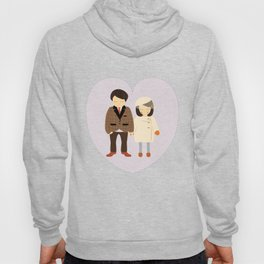 Congratulations! Couple's Engagement / Wedding / Anniversary Portrait - Illustration Print Hoody