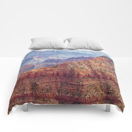 The Grand Canyon Layers of Earth  Comforters