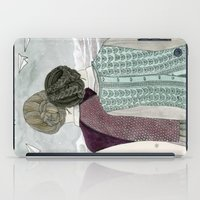 planes iPad Cases featuring Paper Planes by Yuliya