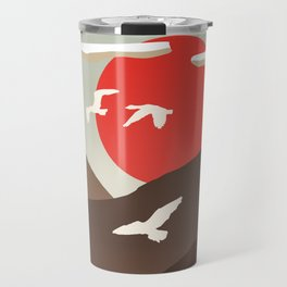 Swan Migration Travel Mug
