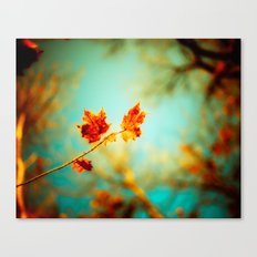 Rusty Glow Canvas Print