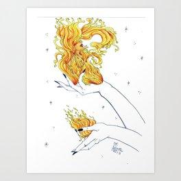 Brigid Fire Art Print