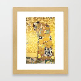 Gustav Klimt - The Embrace - Die Umarmung - Vienna Secession Painting Framed Art Print