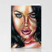aaliyah Stationery Cards featuring Babygirl by moneechante