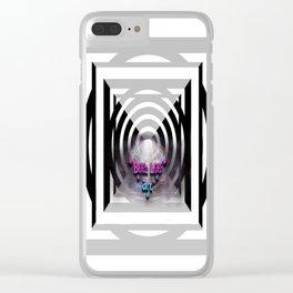 """""""Beez Lee Art : Light Bridge Ascension"""" Clear iPhone Case"""