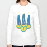 ukraine Long Sleeve T-shirts featuring Ukraine by nushutu