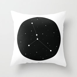 Zodiac - Cancer Throw Pillow