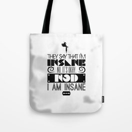 """""""Girl with the Dragon Tattoo"""" Typography Poster Tote Bag"""