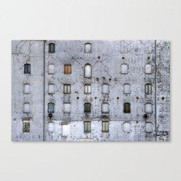 Wall of Windows Canvas Print