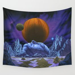Time is the simplest thing Wall Tapestry