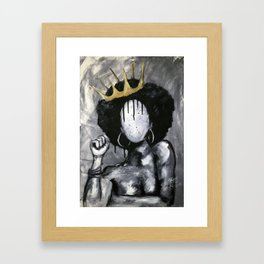 Naturally Queen Framed Art Print