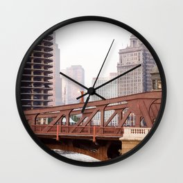 Chicago River Wall Clock