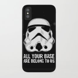 All Your Base Are Belong To Us iPhone Case