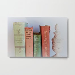 Wuthering Heights and Jane Eyre Metal Print