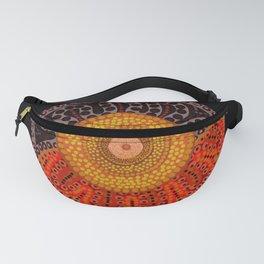 Australian Aboriginal Sun Fanny Pack