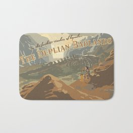 Deplian Badlands Bath Mat