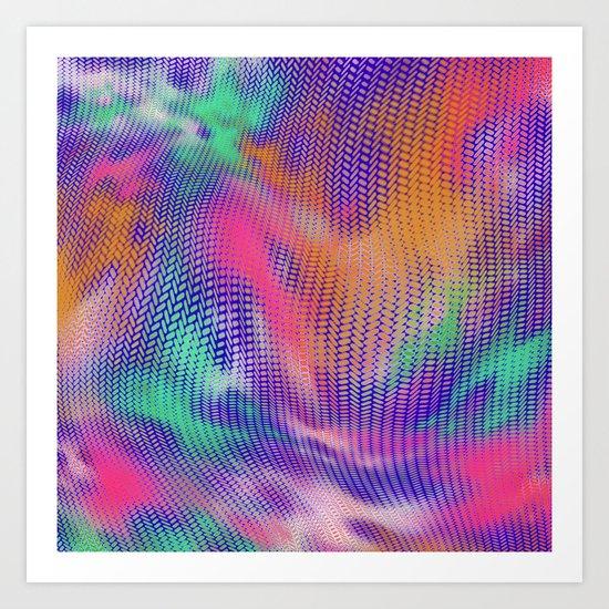 Pattern 100 Art Print
