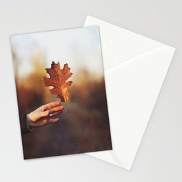 Catching a bit of Autumn Stationery Cards