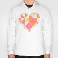 girly Hoodies featuring Girly Geometry by micklyn