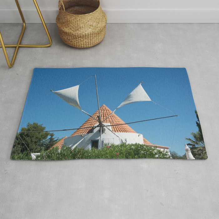 Windmill house, Portugal Rug