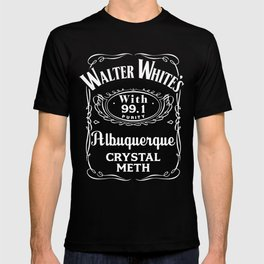 Walter White Pure Crystal Meth. T-shirt