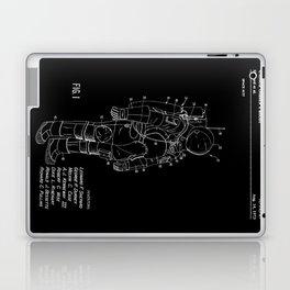 NASA Space Suit Patent - White on Black Laptop & iPad Skin