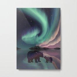 Aurora Bearealis  Metal Print