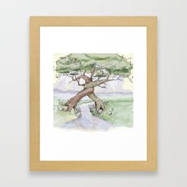Tree Hug Framed Art Print