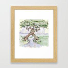 Tree Hug Framed Art Print