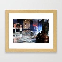 0014 After Humankind Framed Art Print
