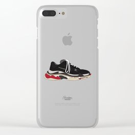 Balenciaga Triple S Speed ​​Trainer Clear iPhone Case