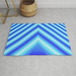 Blue Sabers Rug
