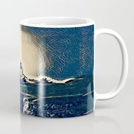A Light In The Tempest Coffee Mug