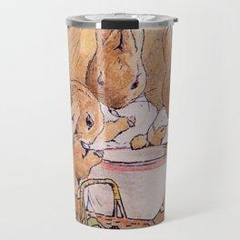 Peter Rabbit with his parents Travel Mug