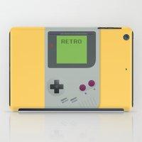 gameboy iPad Cases featuring Retro Gameboy by Alex Boatman