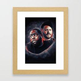 Run the Jewels Framed Art Print