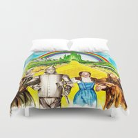 oz Duvet Covers featuring Sphynx goes to OZ by Psyca