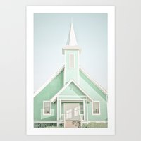 mint Art Prints featuring Mint  by Bree Madden