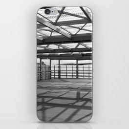 Metal constructions barriers with protective cells iPhone Skin