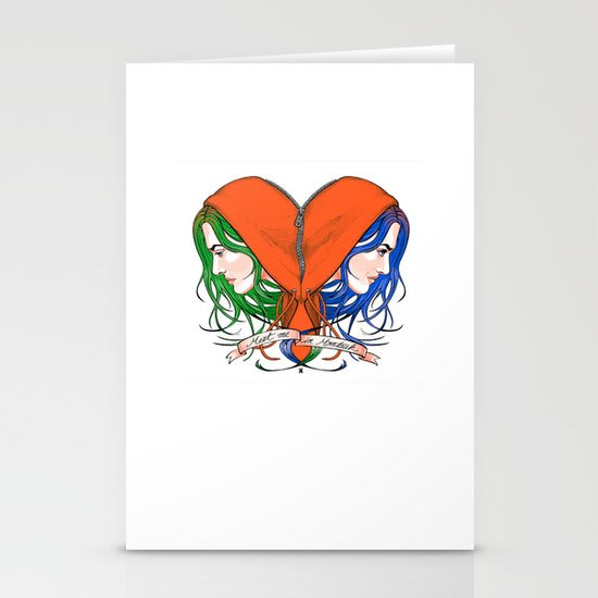 Clementine's Heart Stationery Cards
